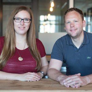 finletter-Gründer Carolin Neumann und Clas Beese (Foto Katrin Bpunkt)