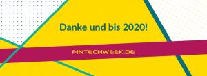 Fintech Week sagt Danke und bis 2020